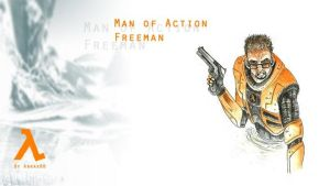 Man of action wallpaper by Abrax88