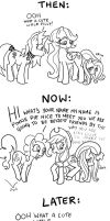 Fluttershy Comic by Yamino