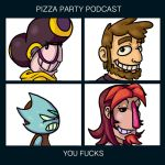 Pizza Party Podcast Demon Days (tinted) by GhosTyce