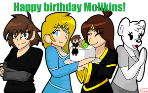 Molikins B-Day Present by sqeakii00
