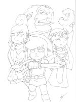 Wind Waker Tribute Lines by Link-artist