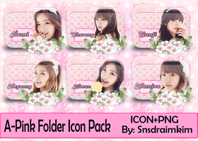 A-Pink Folder Icon Pack by SNSDraimakim