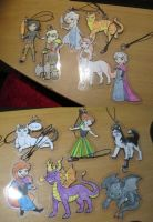 Keychains, all ready to go! by Mion-93