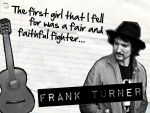 Frank Turner Wallpaper by dannic23