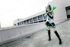 Hatsune Miku- Project Diva 004 by garion