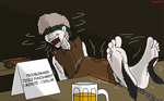 At the bar by countfire