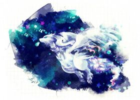 Reshiram: Essence by lunasnightmare