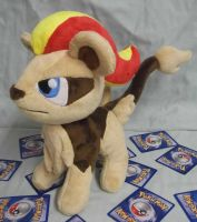 Female Pyroar Custom Plush request by angelberries