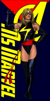 Ms Marvel Pre-Assembly by Sailmaster-Seion
