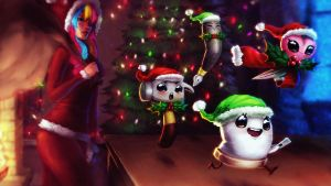 Picarto Contest Entry    Santa's Lil Helpers by Snouken