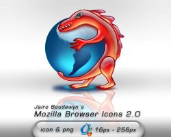 Mozilla Browser Icons 2.0 by weboso