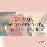 Howl's Moving Castle Quote #2 by Bellarose06