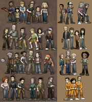 The Walking Dead: The Game + 400 Days by SandikaRakhim