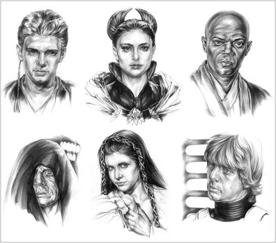 SW Characters again... by Callista1981