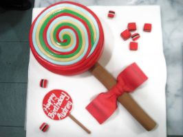 Lollipop Cake by Sliceofcake