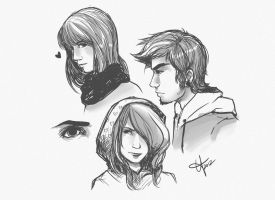 Human Studies1 by tabby-like-a-cat