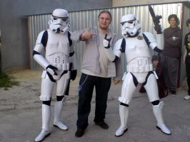 Me and Stormtroopers by altheriol