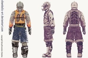 motorstorm 2 character by TeuvoH