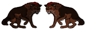 Wolf Adoptable (Auction - Closed) by Nymphadora-RP