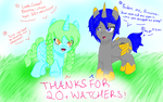 Thanks for 20+ Watchers! by Diamond-Master