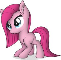 Filly Pinkamena by StarlessNight22