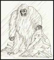 Dor Un Avathar: Yeti by Jedi-With-Wings