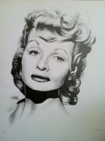 Lucille Ball by SarahEleanor