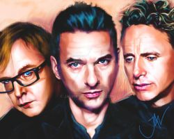DEPECHE MODE by JALpix