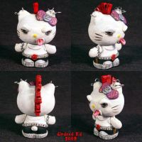 Hello Evil Kitty 5 Punk by Undead-Art