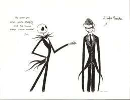 Jack and Slenderman by ChibiNinja7
