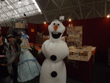 Snowman by lol-the-time
