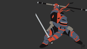 [Request] Deathstroke Minimalist by turpinator77