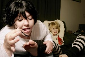 Death Note Foot fixation?... by Psycho7772