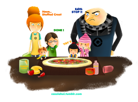 Gru's Family by XiaoCC