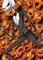Jack, The Pumpkin King. by DeflatingReality