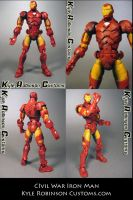 Civil War Style Ironman by KyleRobinsonCustoms