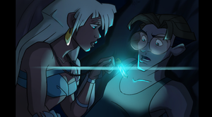 Atlantis Milo and Kida by chocolatecherry
