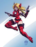 Crimson Valkyrie by EryckWebbGraphics by CrimsonVlkyrie