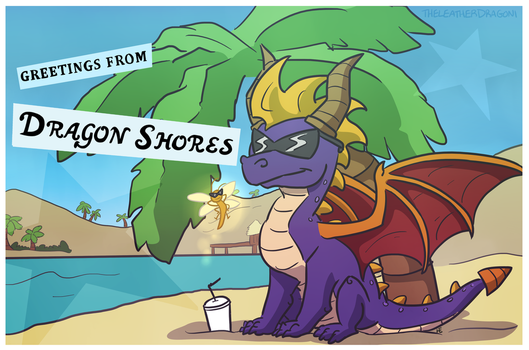 Dragon Shores by TheLeatherDragonI