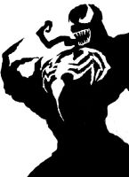 Venom Stencil by madeofmatches