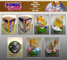 F4F Classic Tails Statue by Fuzon-S