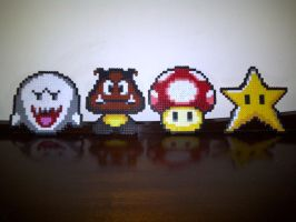 Mario Faces: Group 2 by rebornflame