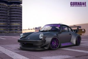 RWB Porsche 911 Turbo by Gurnade