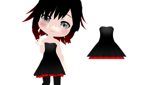 MMD Cute Rummy Dress DL by 2234083174