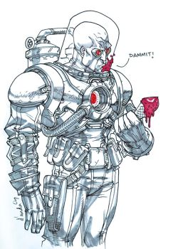 Mr. Freeze's got the blues by Chuckdee