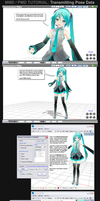 MMD/PMD Tutorial - Transmitting Pose Data by Trackdancer