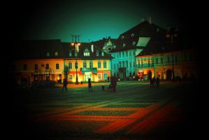 Midnight in Sibiu by since91