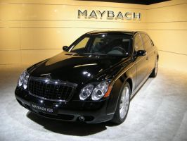 Maybach 62S by r3code