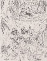Clone Wars in the Rain Forest by Tribble-Industries