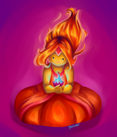 Flame Princess by Chrysolith